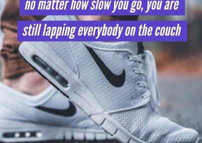 No matter how slow – Instagram