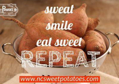 Sweat, Smile, Eat Sweet …